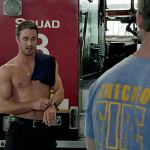 Shirtless Firefighter Taylor Kinney Needs to Cool Off: VIDEO