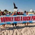 'Mitt Romney Has A Koch Problem,' Say Protesters