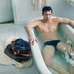 Michael Phelps Has a Speedo Soak for Louis Vuitton: PHOTO