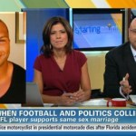 Baltimore Raven Brendon Ayanbadejo Speaks Out on Gay Rights on CNN 'Starting Point': VIDEO