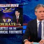 Jon Stewart Mocks FOX News Attempts to Delegitimize Biden at Last Week's VP Debate: VIDEO
