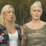 Lesbian Couple Says Two Men Attacked Them in Hate Crime Over Gay Pride Weekend: VIDEO