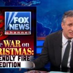 Jon Stewart Mocks FOX News' Annual 'War on Christmas' Report: VIDEO