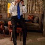 Obama Takes Romney's Concession Call: PHOTO