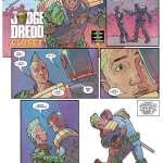 Leaked Comic Page Shows 'Judge Dredd' in Gay Kiss, Suggests He's Coming Out
