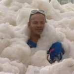 Australian Town Overrun with Sea Foam: VIDEO