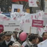 Hundreds Of Thousands Protest Marriage Equality In Paris: VIDEO