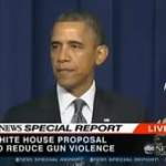 Obama Unveils Plan to Reduce Gun Violence: VIDEO