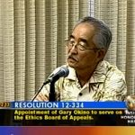 Honolulu Mayor Pulls Former Councilman's Nomination to Ethics Board After Firestorm Over Anti-Gay Remarks: VIDEOS