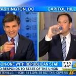 Marco Rubio Jokes About His Dry Mouth Disaster: VIDEOS