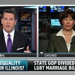 Thomas Roberts Talks to IL State Senator Heather Steans About Upcoming Marriage Equality Vote, Aaron Schock: VIDEO
