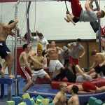 U. of Nebraska Men's Gymnastics Do the Harlem Shake: VIDEO
