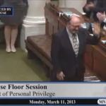Homophobic Minnesota Lawmaker Proudly Introduces Close 'Ex-Gay' Friend on House Floor: VIDEO