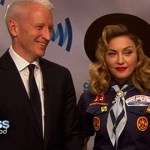Anderson Cooper and Madonna Get Candid Backstage at GLAAD: VIDEO