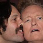 Paul Rudd and Conan O'Brien Get Intimate for a Selfie: PHOTO