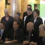 Activists Cheer as Montana Governor Signs Bill Decriminalizing Gay Sex: VIDEO