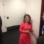 Michele Bachmann Wearing Google Glass: PHOTO