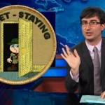 The Daily Show's John Oliver 'Gaywatches' The Boy Scouts, France, Russia, and Pope Francis: VIDEO
