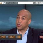 Cory Booker Tells Chris Hayes, 'My Sexuality is Not an Issue Right Now': VIDEO