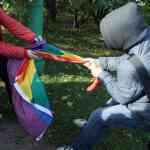 Protesters Disrupt Gay Rights Demonstration In Russia