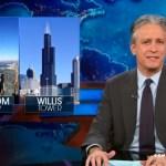 Jon Stewart Celebrates the New NYC-Chicago Skyscraper Rivalry: VIDEO