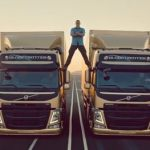 Jean-Claude Van Damme Performs Epic Split to Enya: VIDEO