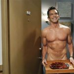 Jeff Probst Strips Down for 'Two and a Half Men': PHOTO