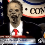 Zombie Reagan Brought Back From the Grave to Lead Republican Party: VIDEO