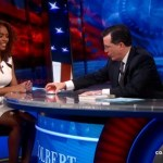 Stephen Colbert Welcomes 'Piers Morgan Abuser' and Trans Activist Janet Mock: VIDEO