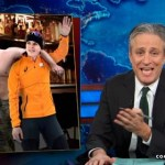 Jon Stewart Watches Ireen Wüst Suck the Teat of Putin; Jason Jones Surveys Russian Bigots – VIDEO