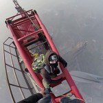 Russian Daredevils Climb World's Second Tallest Building without Equipment: VIDEO