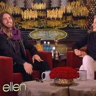 Ellen Catches Up with Jared Leto, Lupita Nyong'o, and the Pizza Guy in Post-Oscars Show: VIDEO