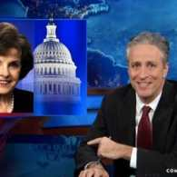 Jon Stewart Blasts Dianne Feinstein Hypocrisy on Spying: VIDEO