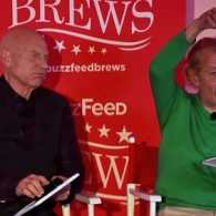 Honorary Married Couple Patrick Stewart and Ian McKellen Play a Version of 'The Newlywed Game': VIDEO