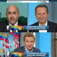 Evan Wolfson Dodges Questions About Jo Becker Book in Gay Marriage Segment with Ronan Farrow: VIDEO