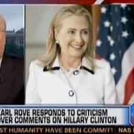 Karl Rove Says Hillary Clinton Has Brain Damage, Then Denies It: VIDEO