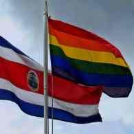 Costa Rica Flies Rainbow Flag Over Presidential Palace
