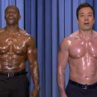 Terry Crews and Jimmy Fallon Perform the World's First 'Nip Sync' Duet: VIDEO