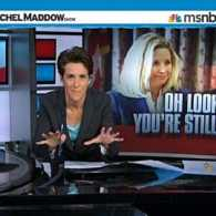 Rachel Maddow Ridicules Dick and Liz Cheney's 'Laugh Out Loud' Self-Parody Exercise: VIDEO