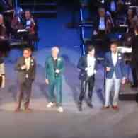 Boy George, Rufus Wainwright, David Byrne And Others Sing 'Summer Nights' From 'Grease': VIDEO