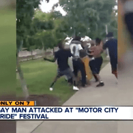 Gay Man Beaten at Detroit's Gay Pride Festival Over the Weekend: VIDEO