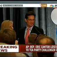 Cantor Concedes, Brat Praises God in Victory Speech: VIDEOS