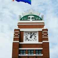 Starbucks Raises Enormous LGBT Pride Flag Over Seattle Headquarters: PHOTOS