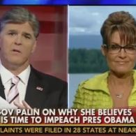 Sarah Palin Brings Her Obama Impeachment Campaign to Sean Hannity: VIDEO