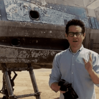 JJ Abrams Shows Off First Footage of 'Star Wars' X-Wing Fighter