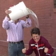 Rachel Maddow Doused In Ice Water For Charity, Names Liz Cheney as Next Challenger: VIDEO