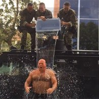 Bear Alert: Fresno Police Chief Takes The ALS Ice Bucket Challenge