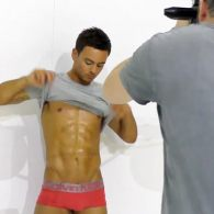 Tom Daley Dressed Up, Stripped Down for 2015: VIDEO
