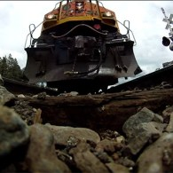 GoPro Reveals What It's Like To Be Run Over By A Train Going 75 MPH: VIDEO