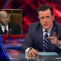 Stephen Colbert Agrees with Louie Gohmert's Warnings About Gay Massage in the Military: VIDEO